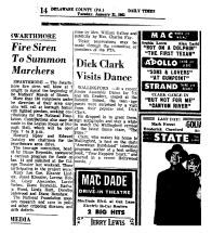 Dick Clark Visits Dance
