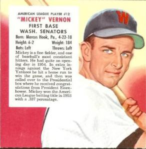 1955 Red Man Card